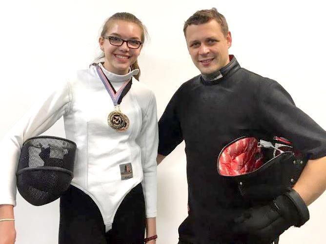 FENCING: Newtown youth strikes gold at Mission Regional Junior Cadet Tournament in New York