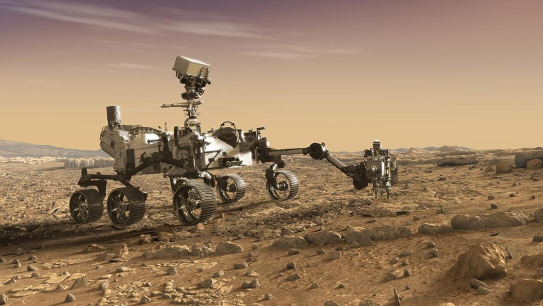 Photo of Mars's Latest Visitor: NASA's Perseverance Rover