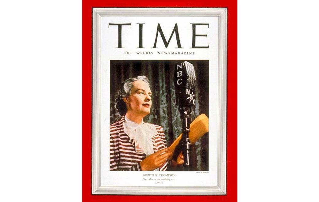 Buffalo Magazine Dorthoy Thompson Time Cover