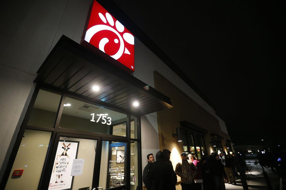 Chick-fil-A opens in Cheektowaga (copy)
