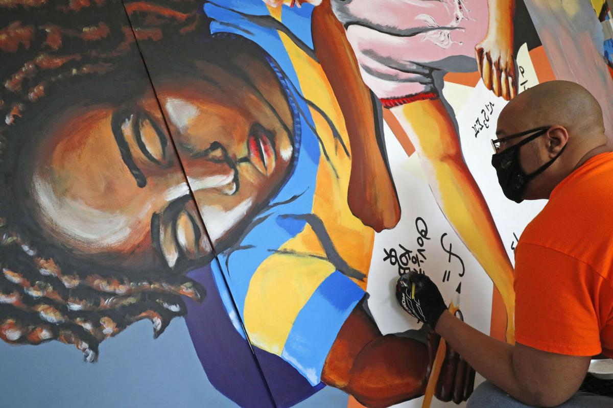 The Jefferson Avenue Apartments commissioned murals project