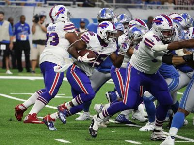 1013580609 McCoy Sports Buffalo Bills Detroit Lions