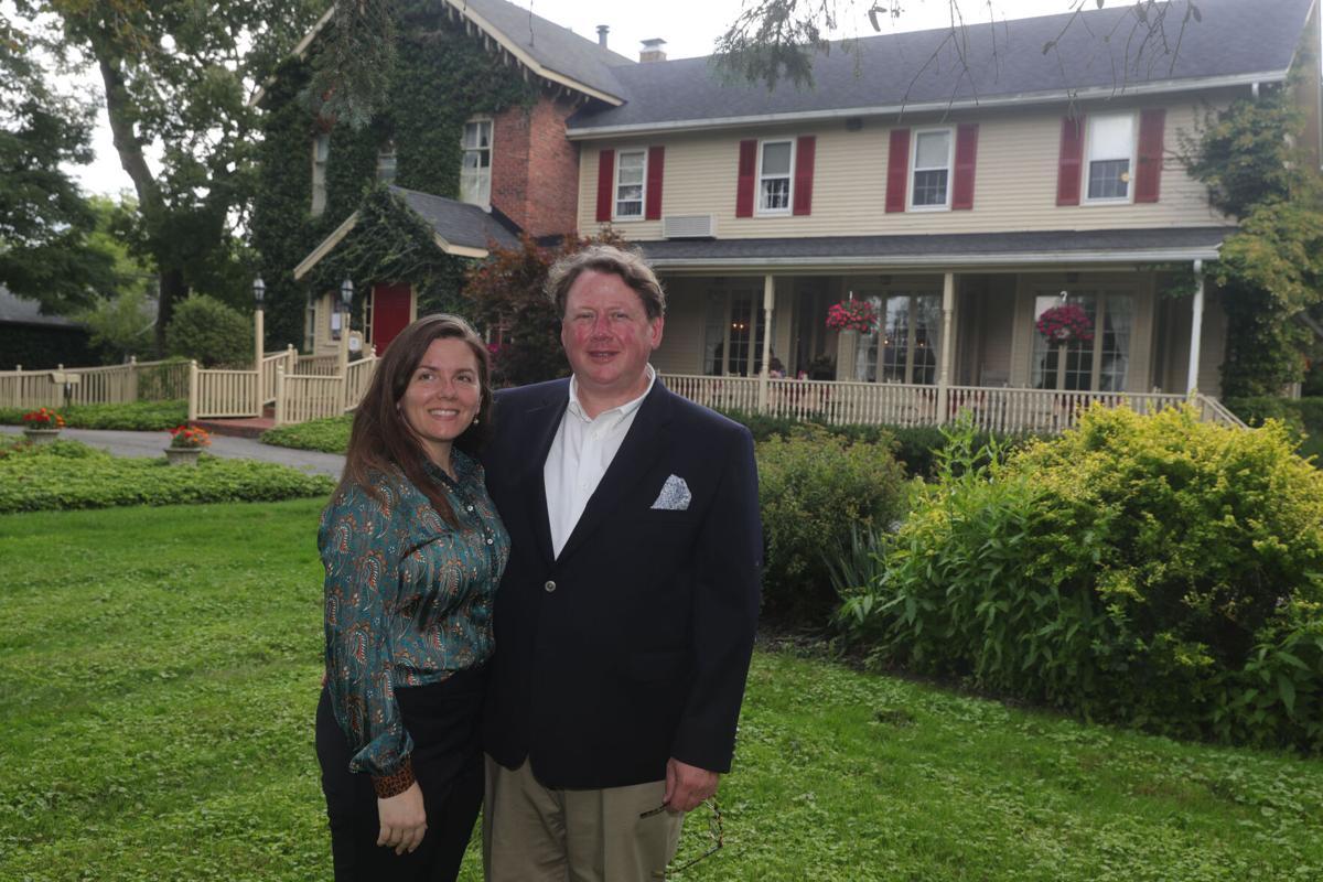 New Owners of Asa Ransom House Bradley and Cassandra McCallum