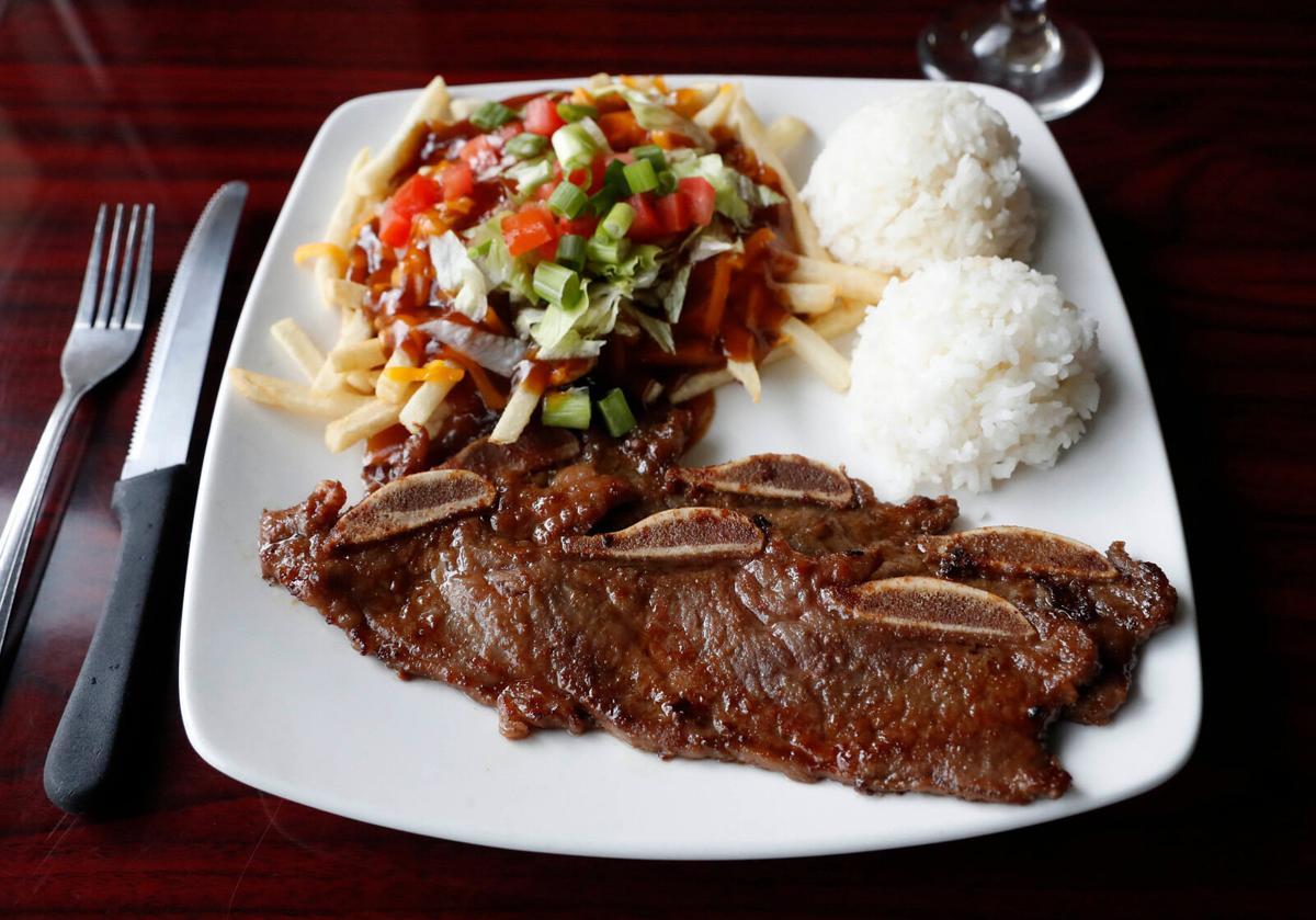 Islands Hawaiian Grill (copy) Korean BBQ beef ribs