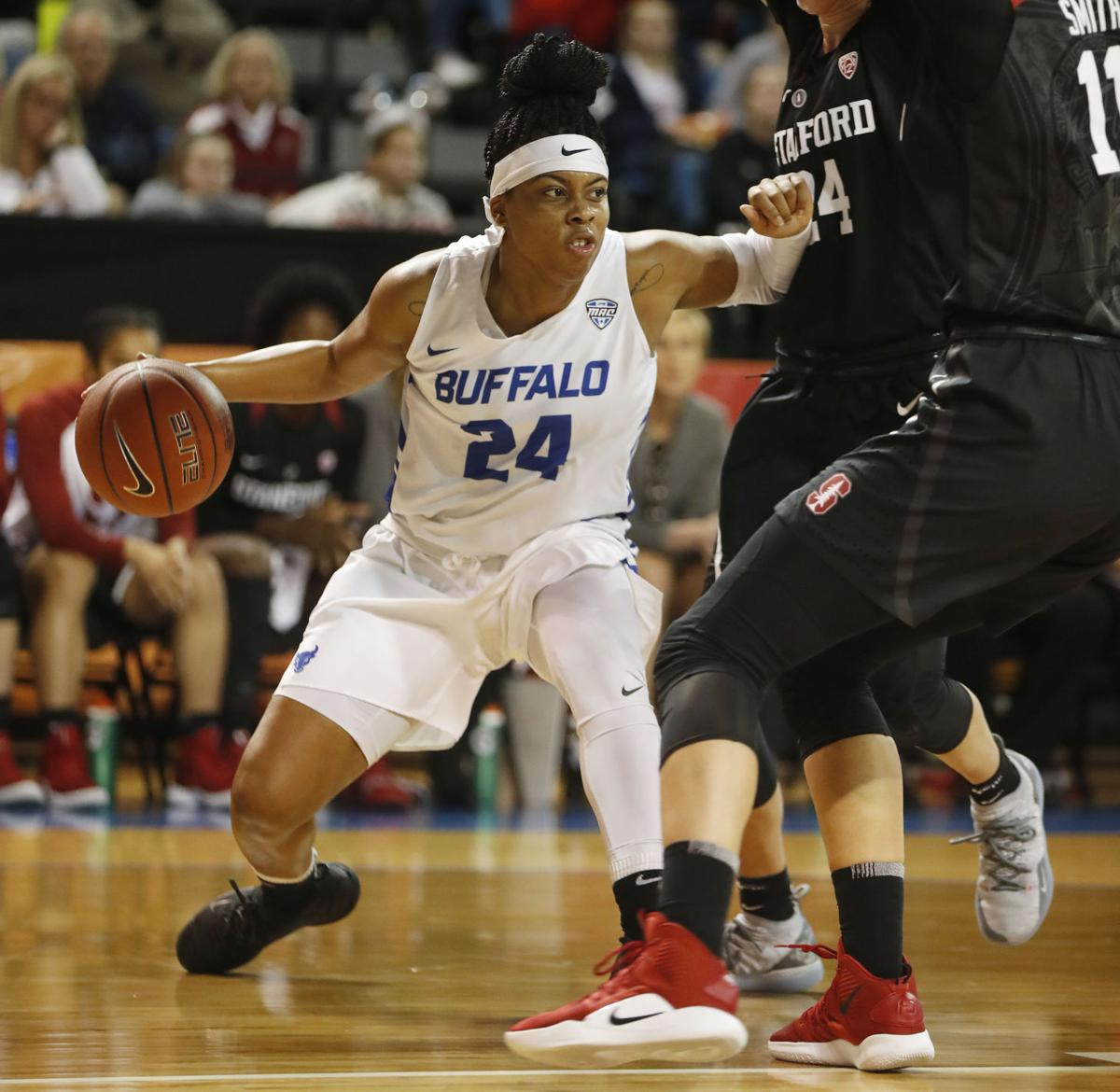 SPORTS STANFORD AT UB WOMENS HOOPS