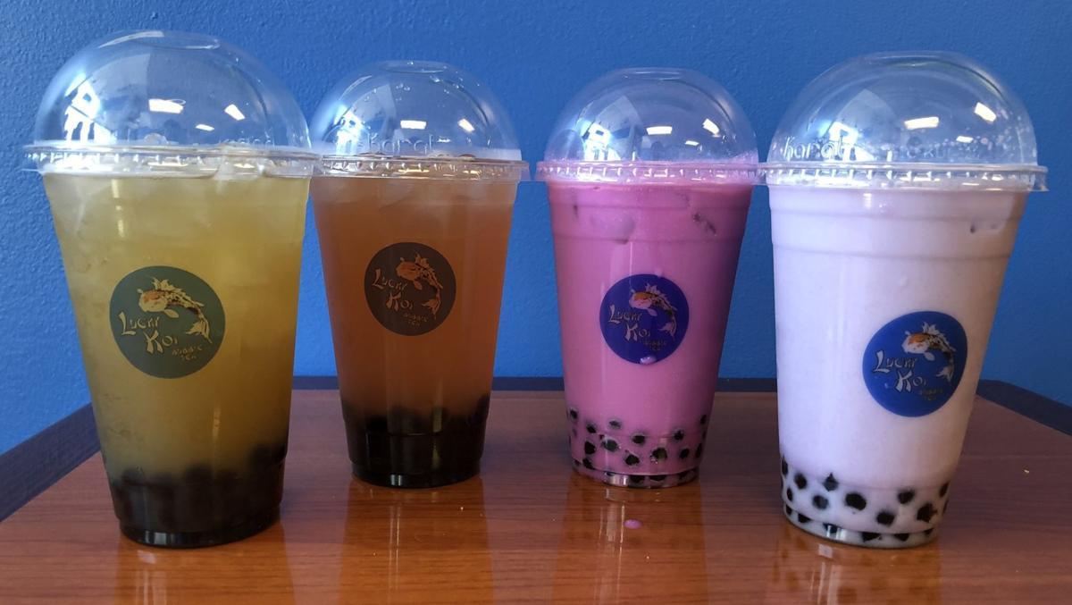 Lucky Koi Bubble Tea