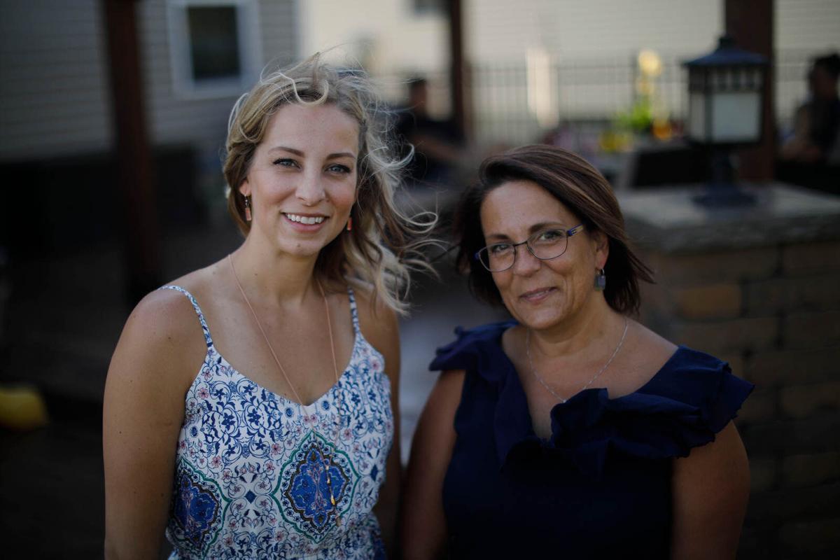 Convalescent plasma and nurses Christie Pelow and Cathy Plewinski
