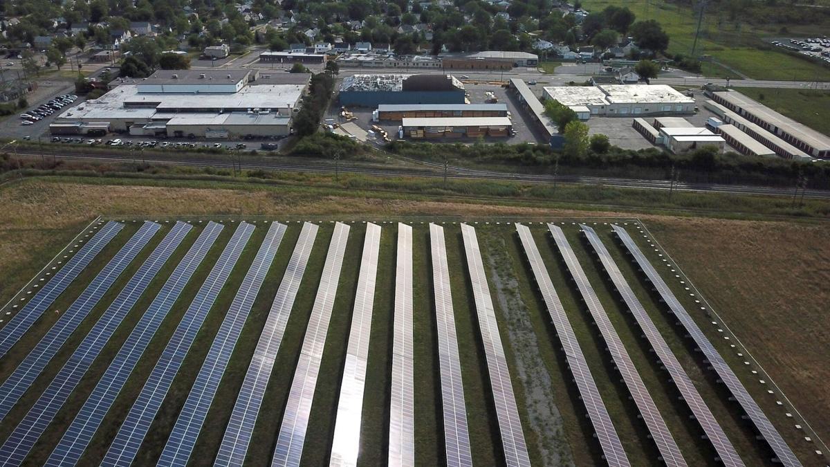 solar array Tonawanda