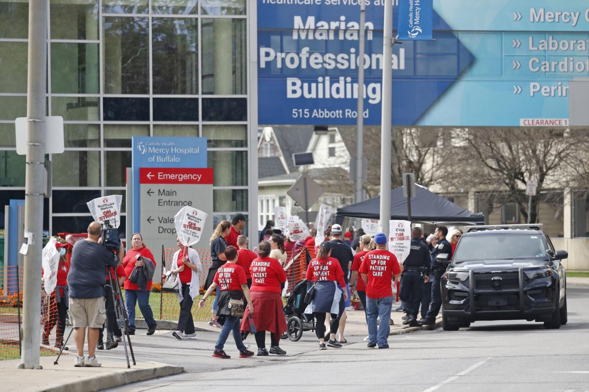 Mercy Hospital strike