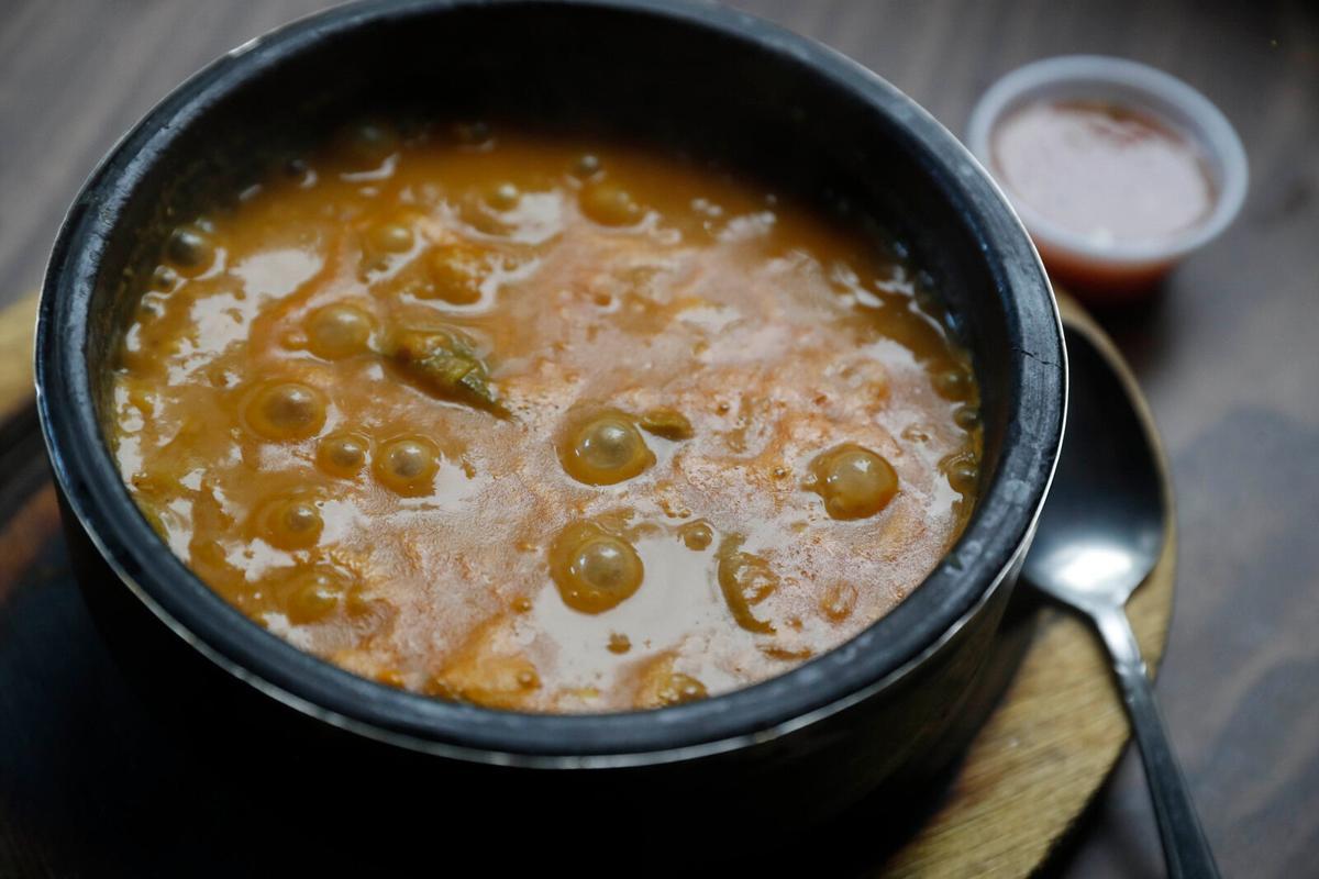 Salta, Yemeni vegetable stew, at Crave King