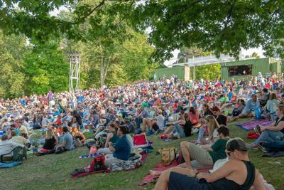 """Smiles at """"King Lear"""" at Shakespeare in Delaware Park (copy)"""