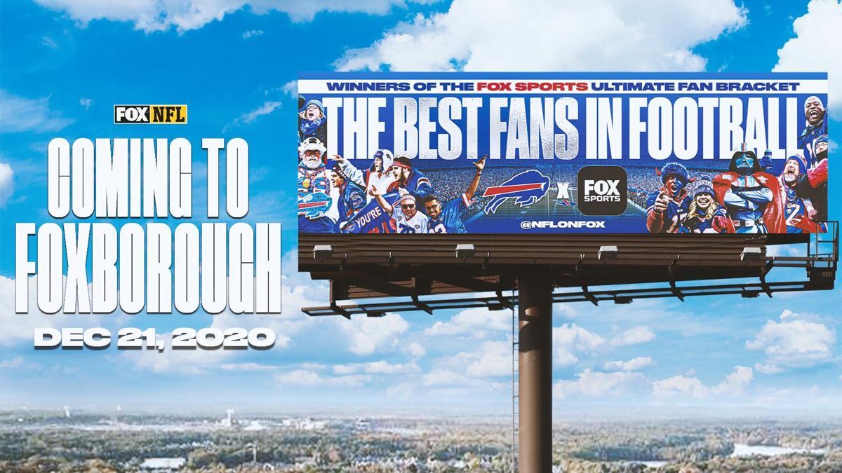 Bills fans billboard