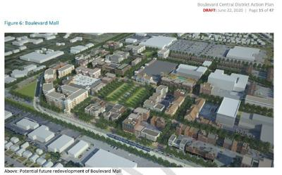 Douglas Jemal proposal for Boulevard Mall