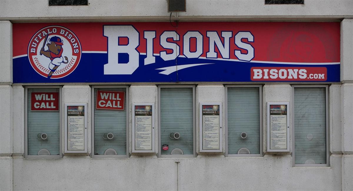 Sahlen Field sits empty as the Bisons postpone Opening Day
