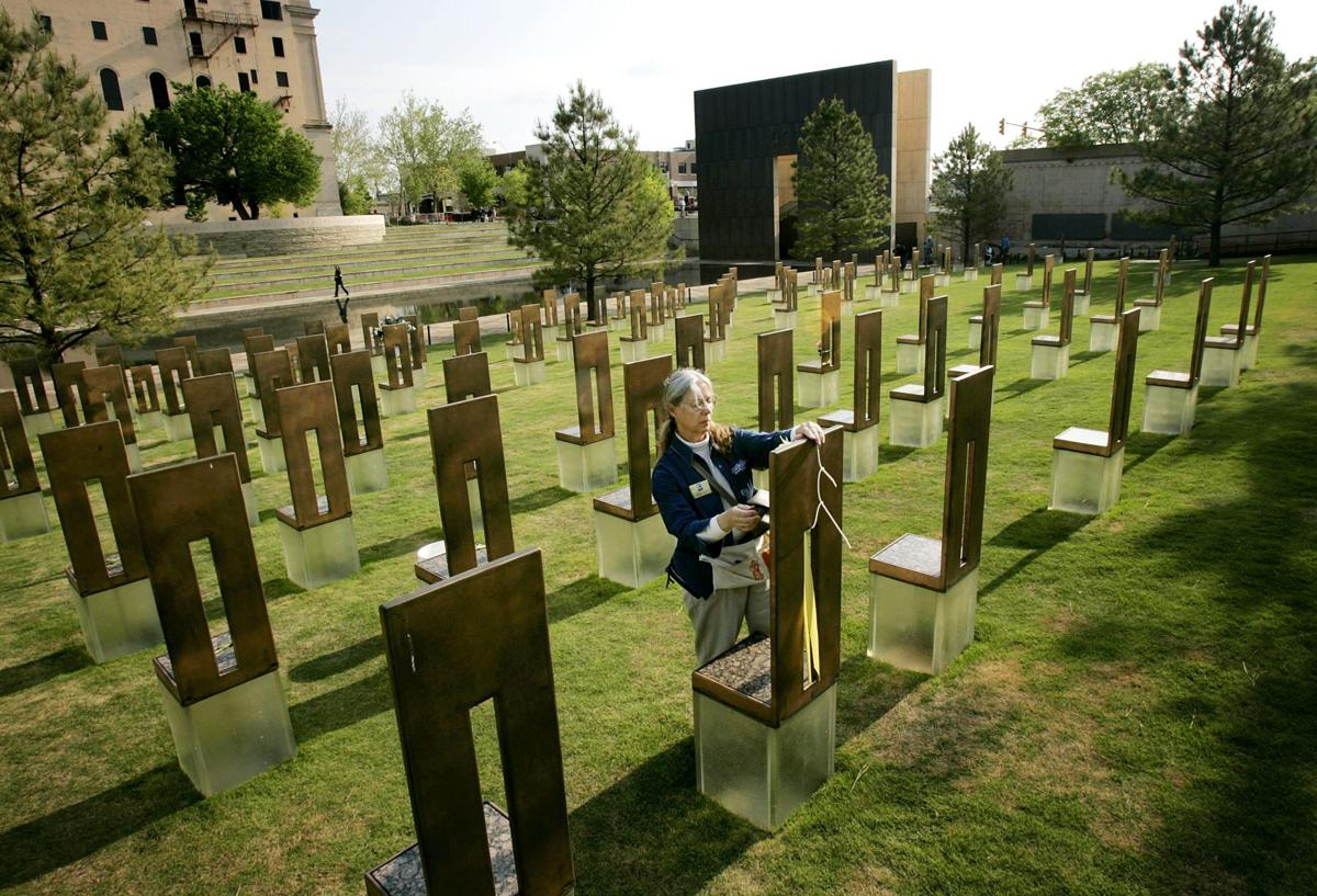 Tenth Anniversary Of Oklahoma City Bombing Observed
