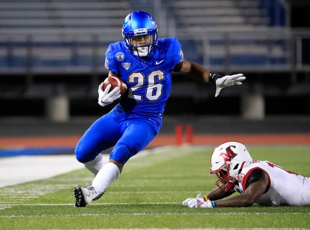Jaret Patterson shows off some speed, catching ability at UB pro day | Buffalo Bills News | NFL | buffalonews.com