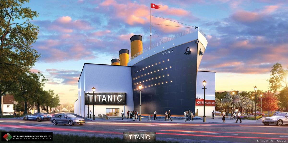 titanic museum niagara falls