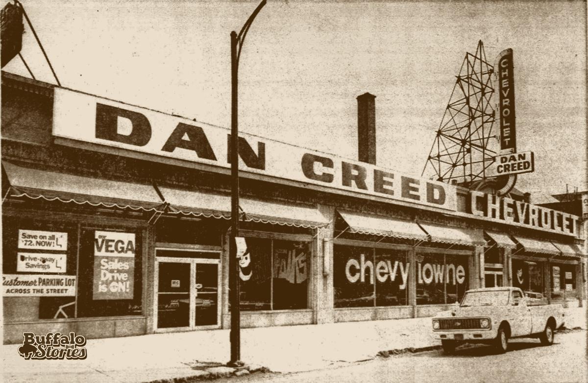 Dan Creed Chevy Main at Fillmore 1972