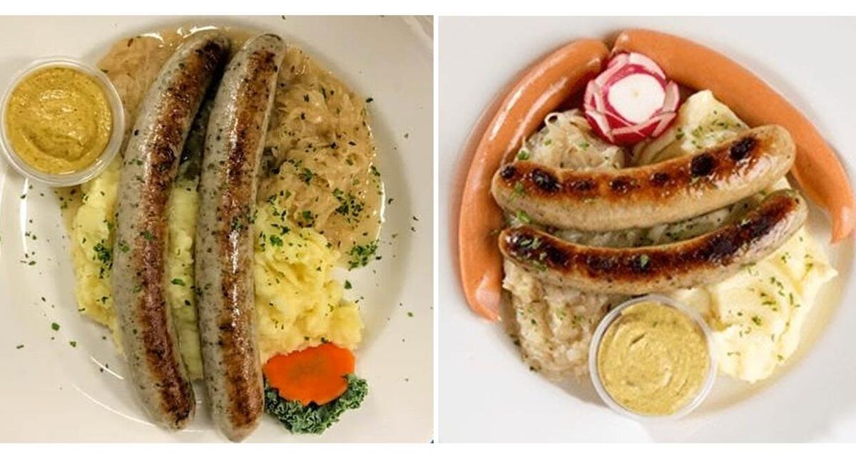Wardynski's Hofbrauhaus sausages