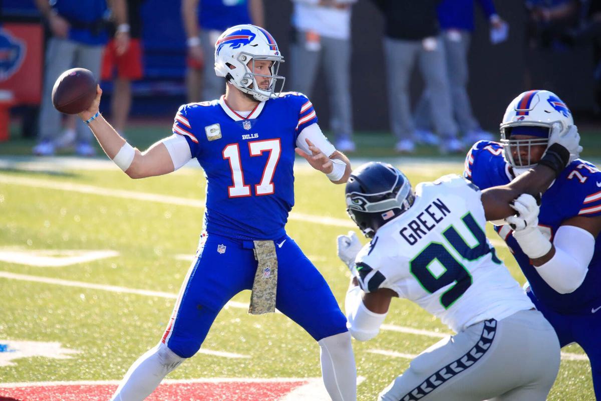 What Bills' Josh Allen and Dawson Knox were doing in their touchdown  celebration | Buffalo Bills News | NFL | buffalonews.com