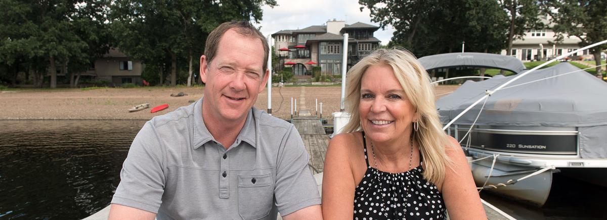Minnesota state senator Karin Housley and NHL Buffalo Sabres head coach Phil Housley
