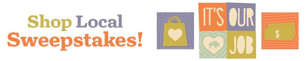 Shop Local Sweepstakes header