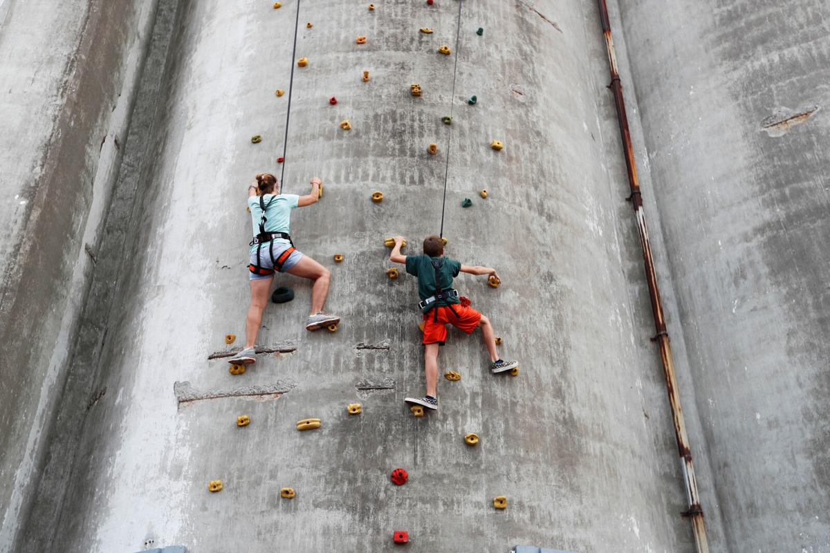 Climbing high at RiverWorks