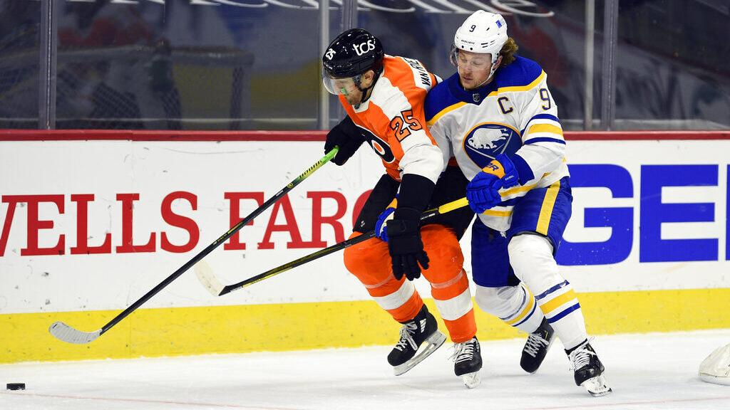Wraparound: Flyers 3, Sabres 0