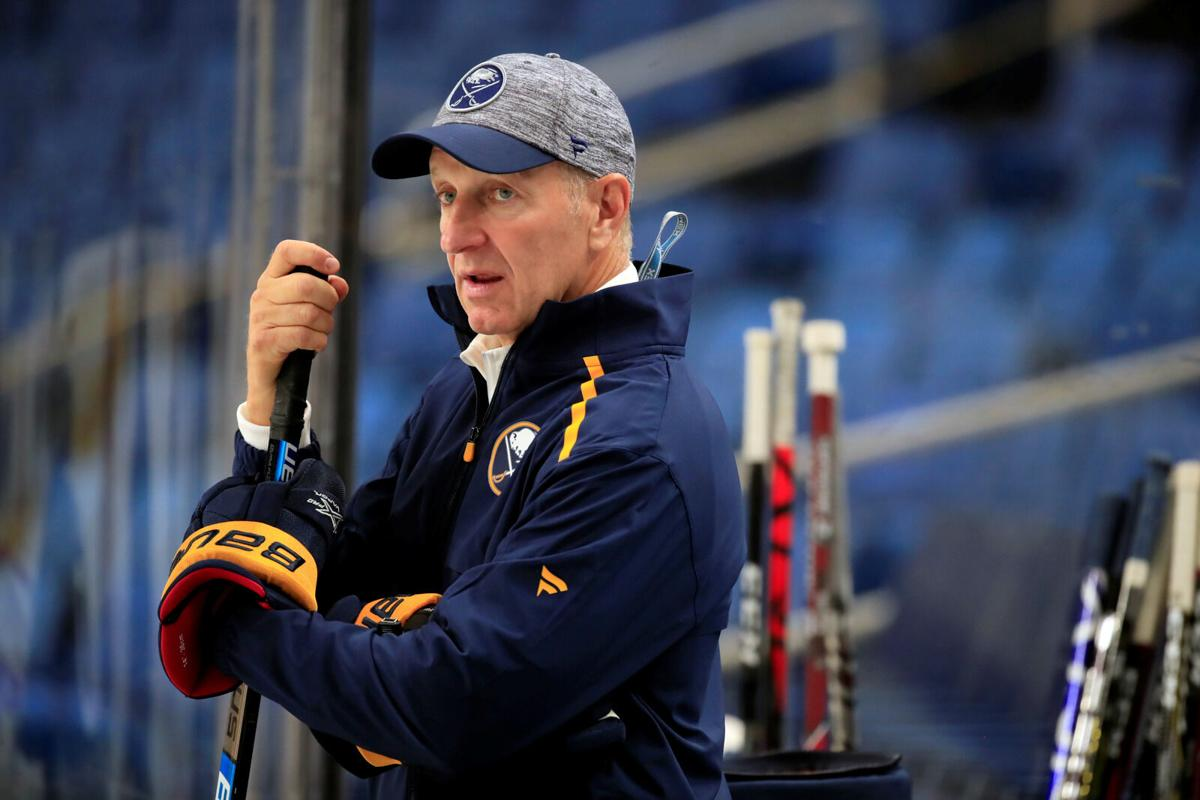 Coach-Ralph-Krueger-Sabres-Training Camp-Scull-KeyBank Center
