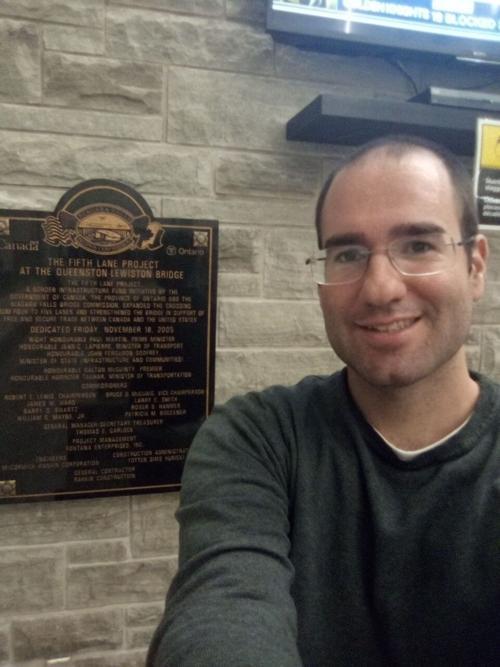 Aaron Ross selfie