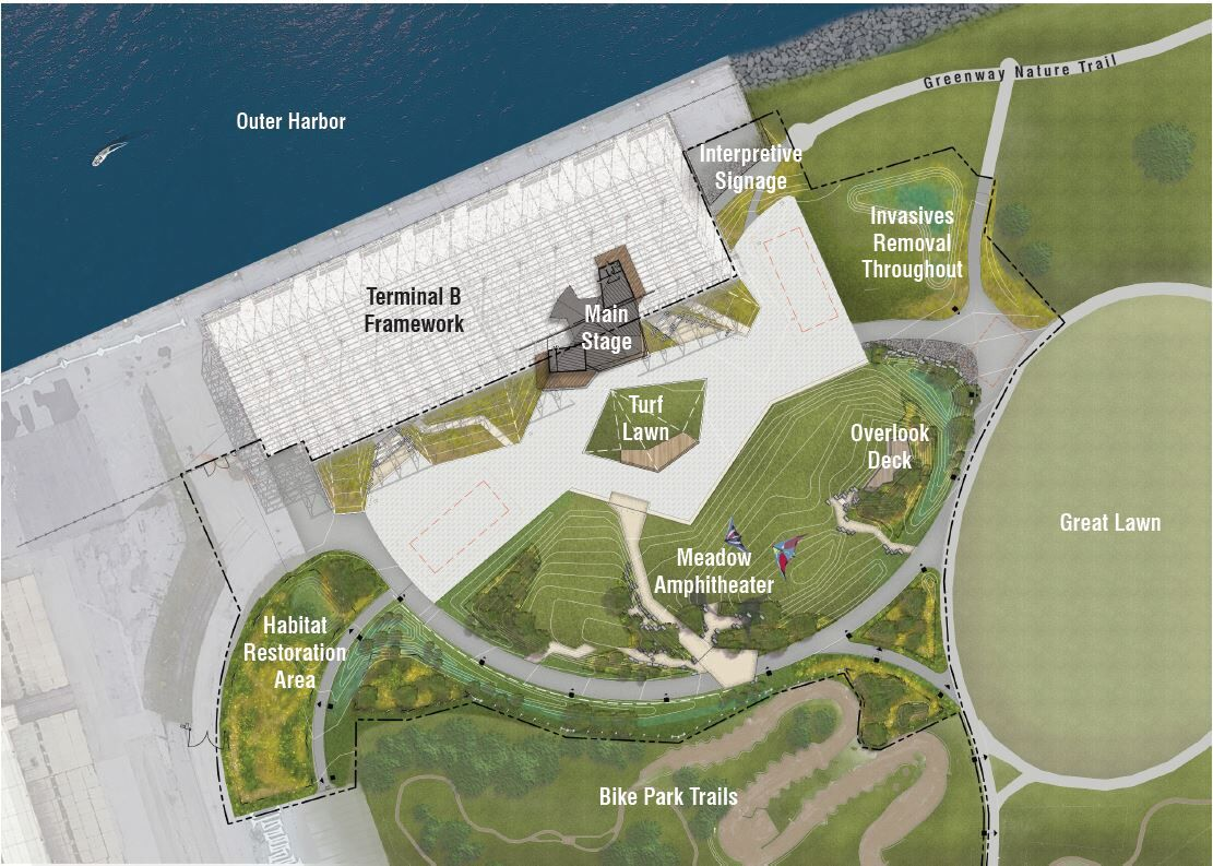 Outer Harbor amphitheater