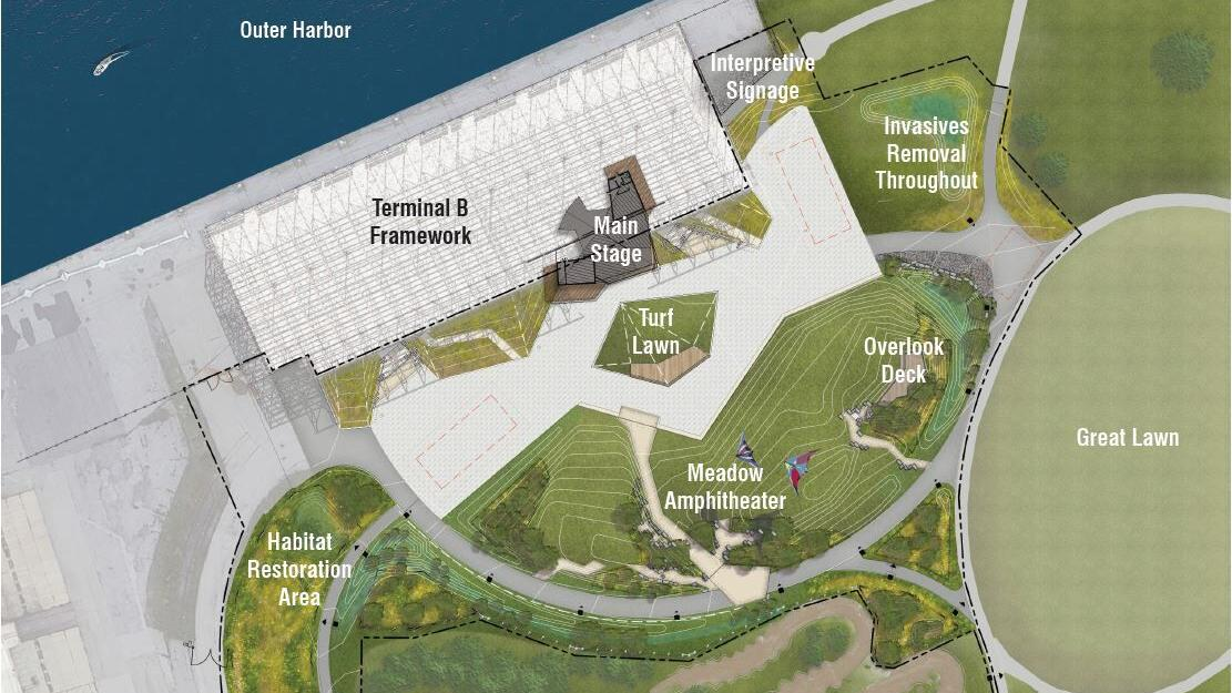 Lawsuit filed to stop music pavilion at Outer Harbor