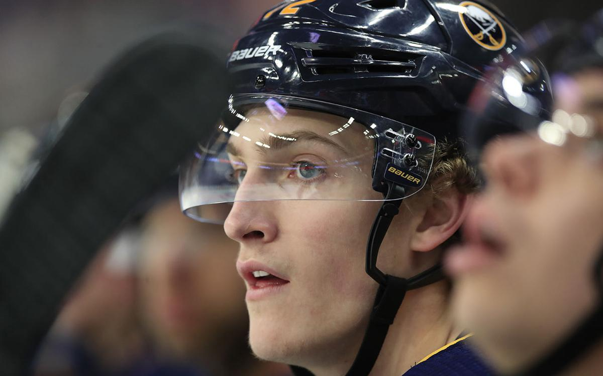 Tage Thompson Buffalo Sabres Detroit Red Wings