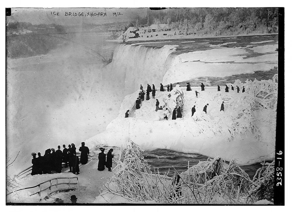 niagara falls ice bridge 1912
