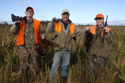 Cambria Shooting Preserve pheasant hunt John Van Hoff