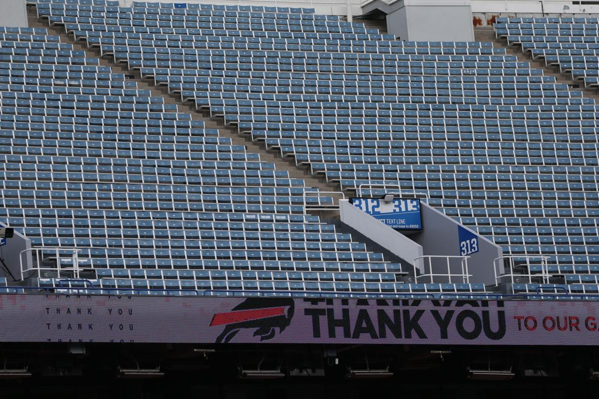 Empty Bills Stadium