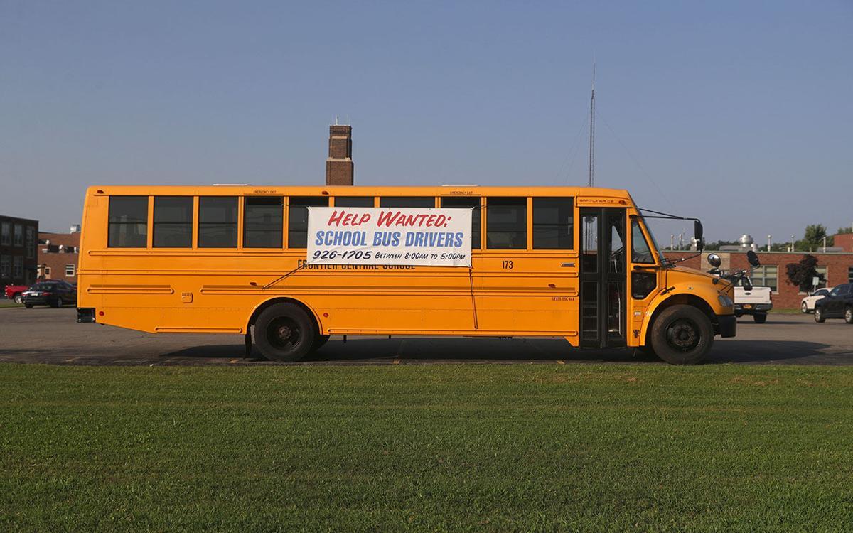 School Bus driver shortage at Frontier schools in Hamburg