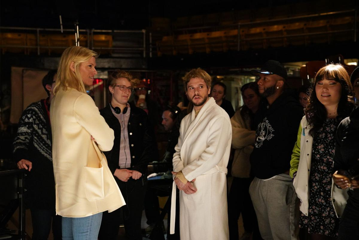 Saturday Night Live - Lindsay Shookus and Kit Harrington