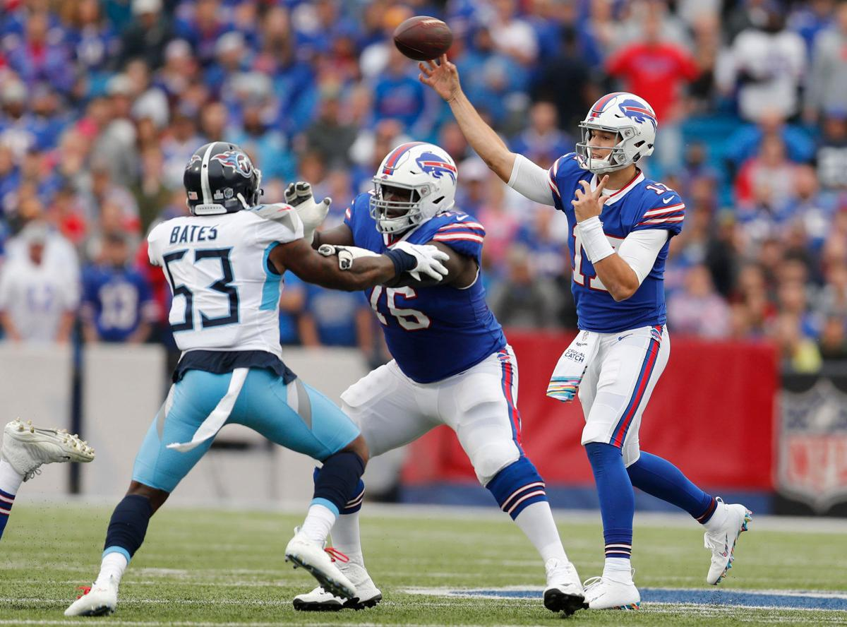 How Josh Allen S Rookie Year Compared To Final College Season Buffalo Bills News Nfl Buffalonews Com