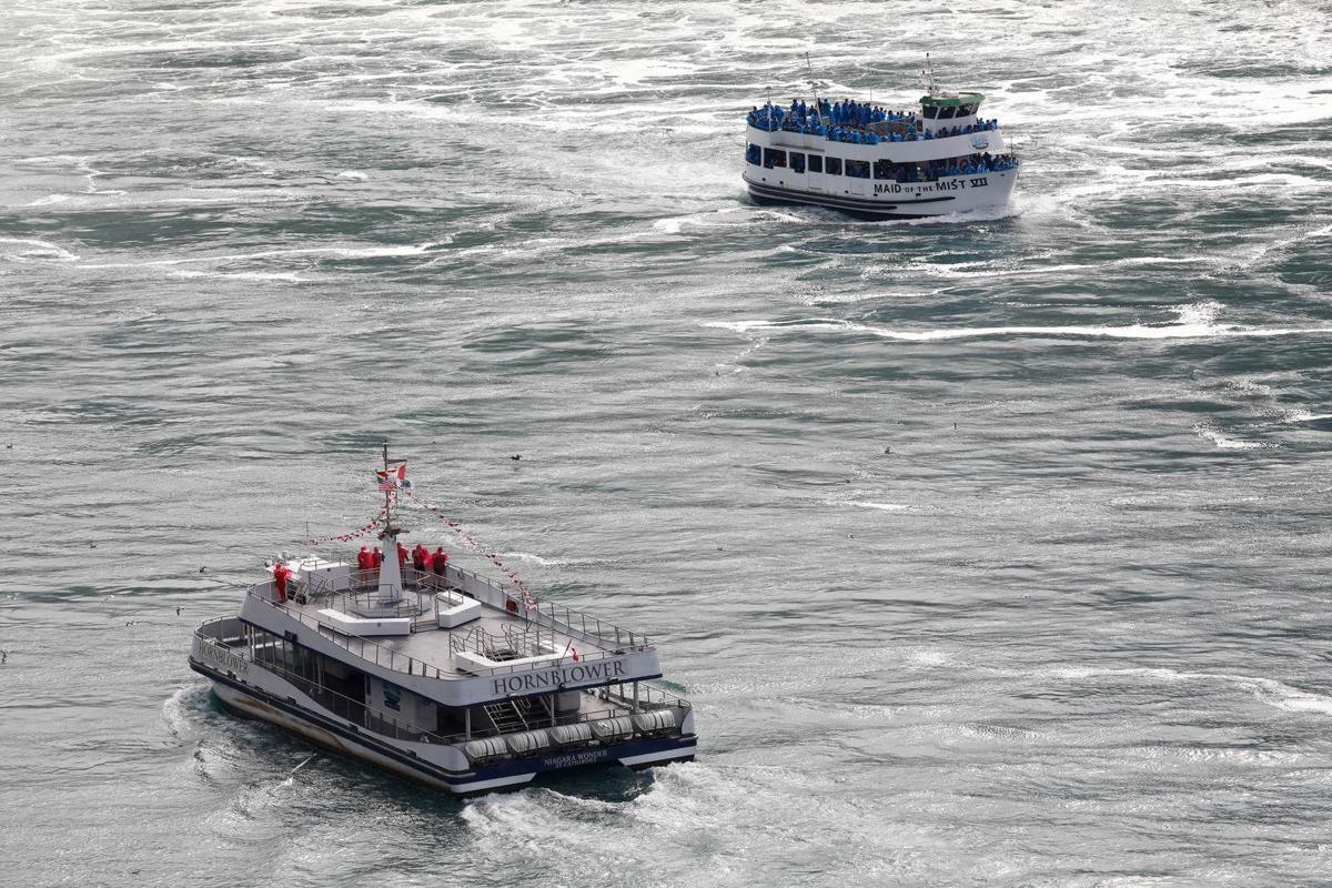 ferry boats crossing