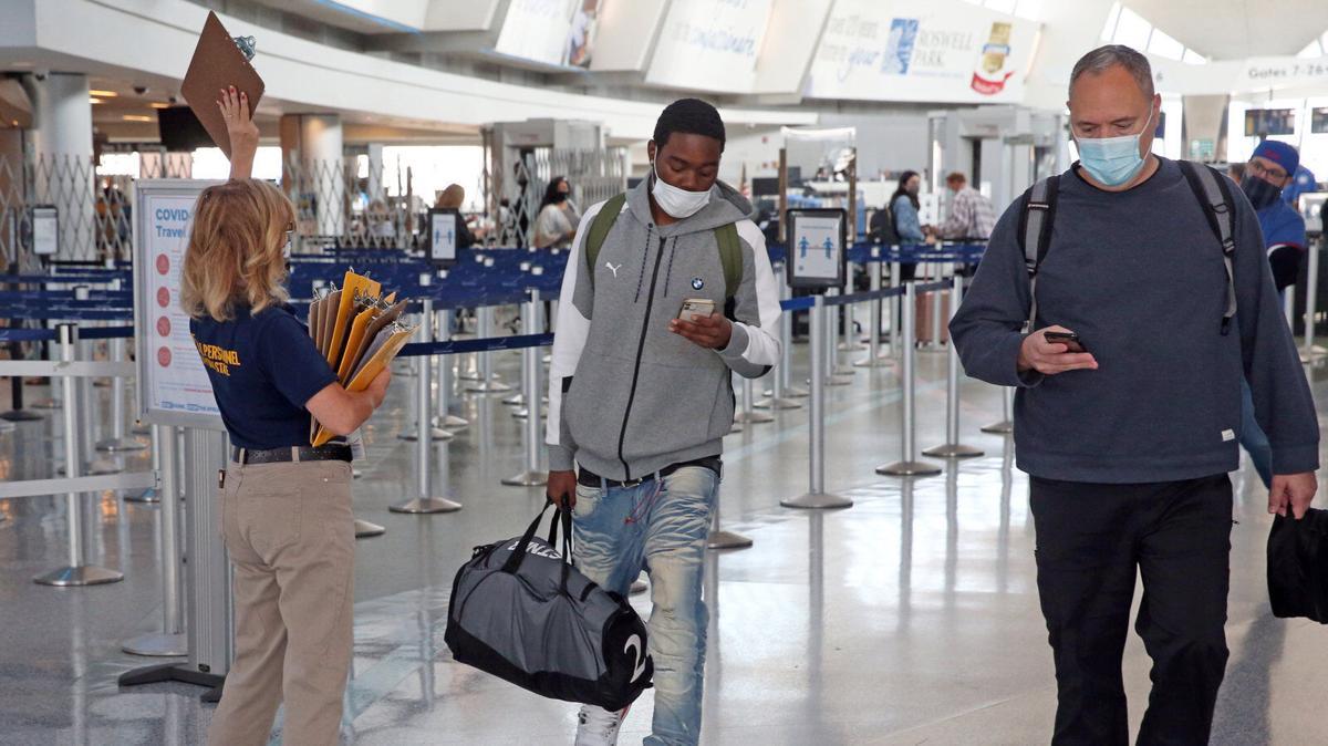 Covid-19 safety at Buffalo Niagara International Airport
