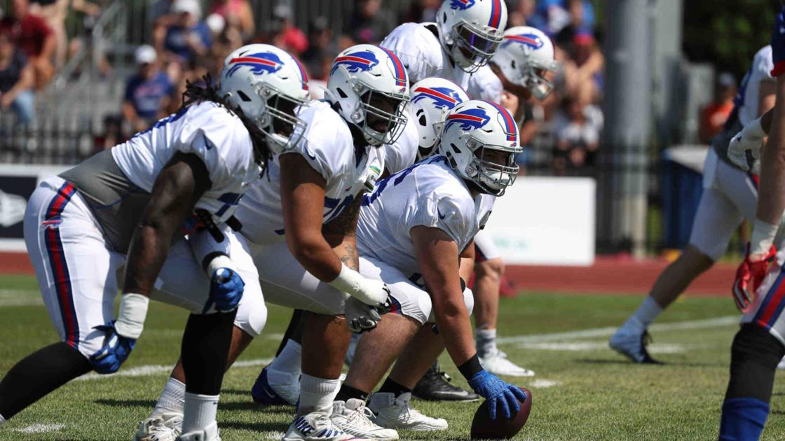 Bills' offensive line ranked 18th in NFL by Pro Football Focus