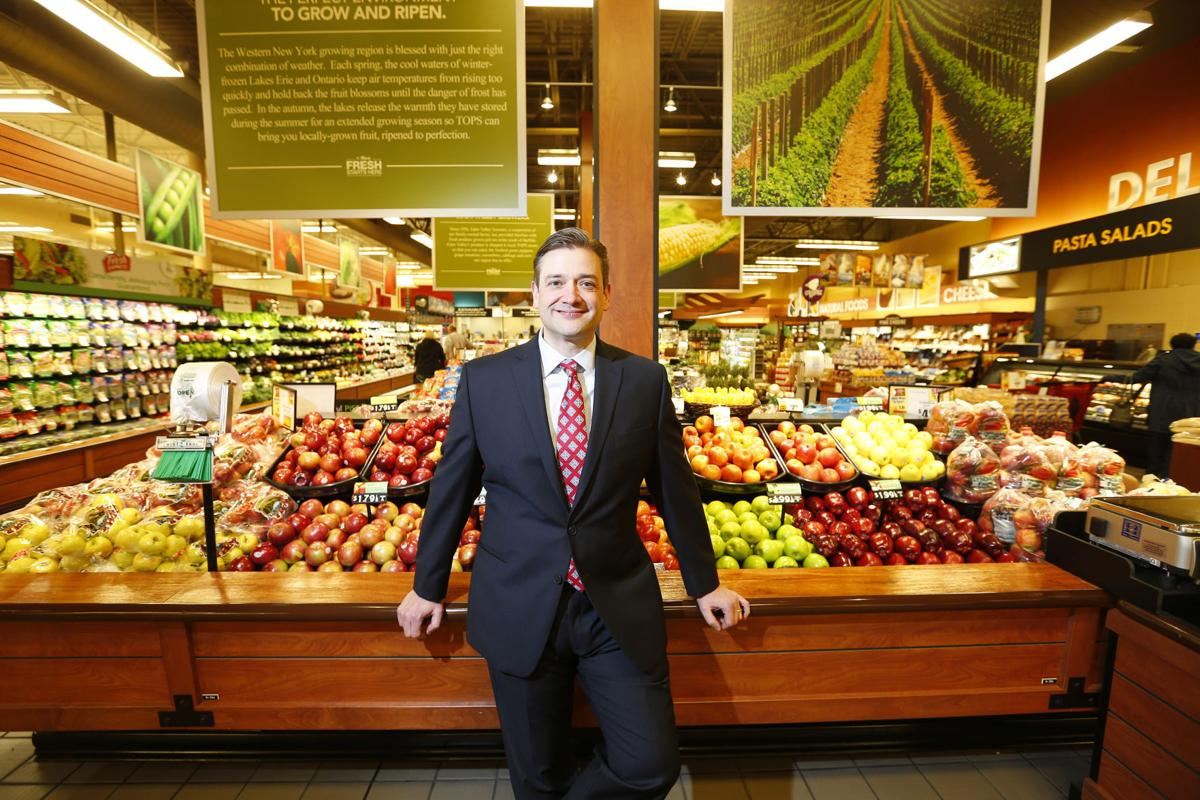 John Persons reflects on journey from wrangling carts to Tops president
