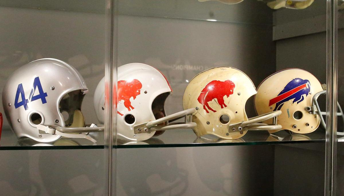 Bills old helmets