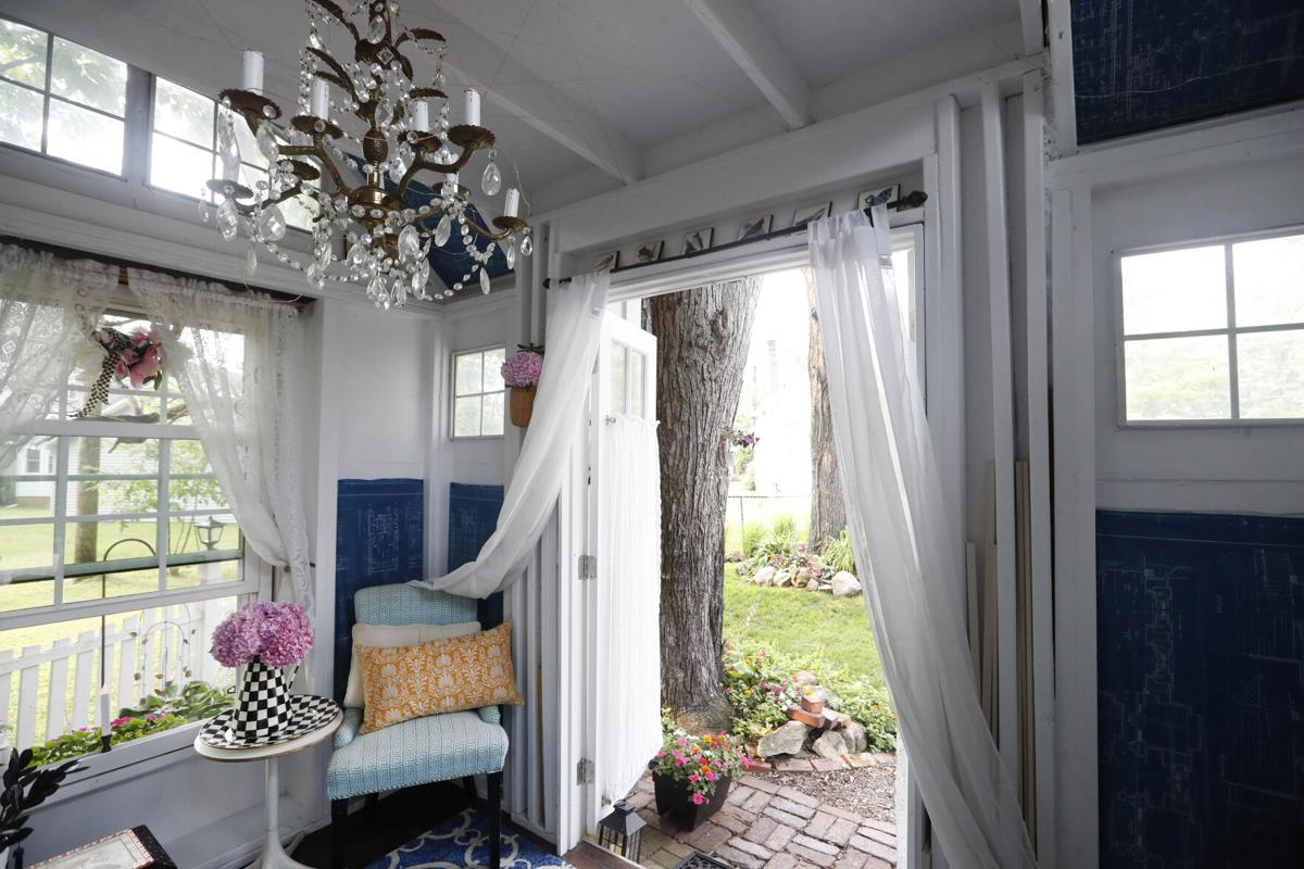 Outdoor Spaces: interior view of the She Shed
