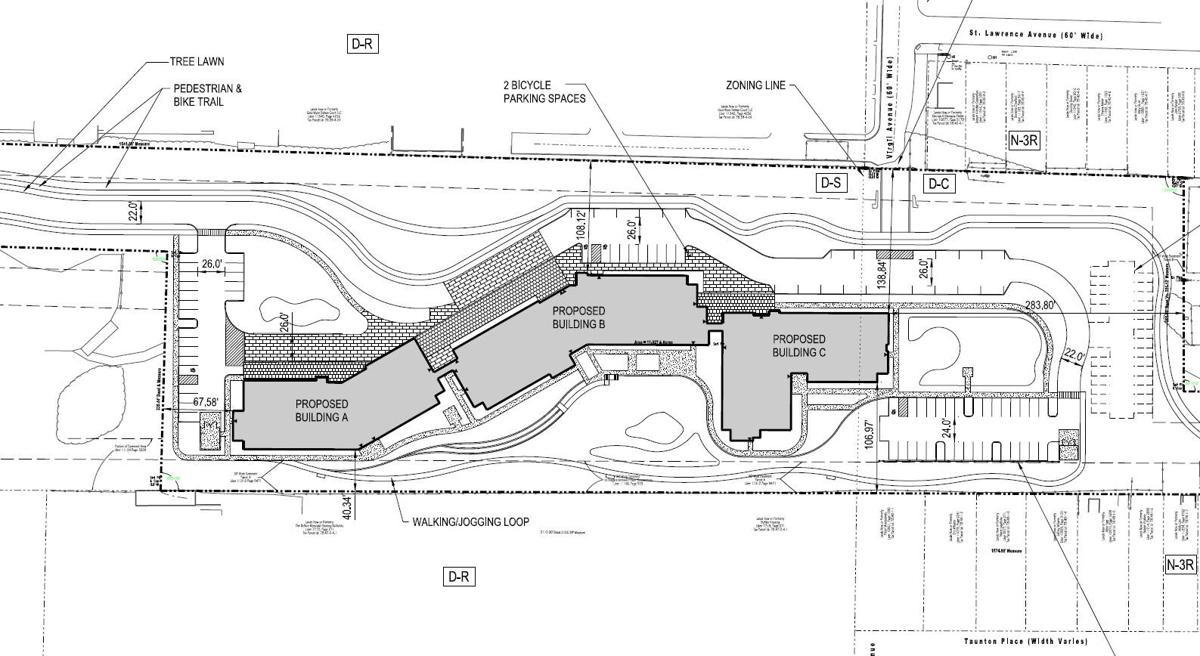 DePaul-Delaware Avenue Apartments-site plan