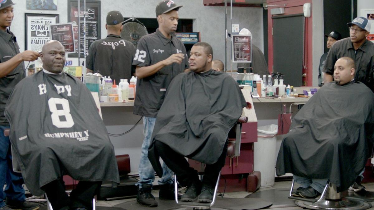 The Blackness Project Styles of Man barber shop