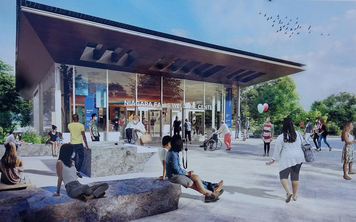 Niagara Falls Visitor Center rendering