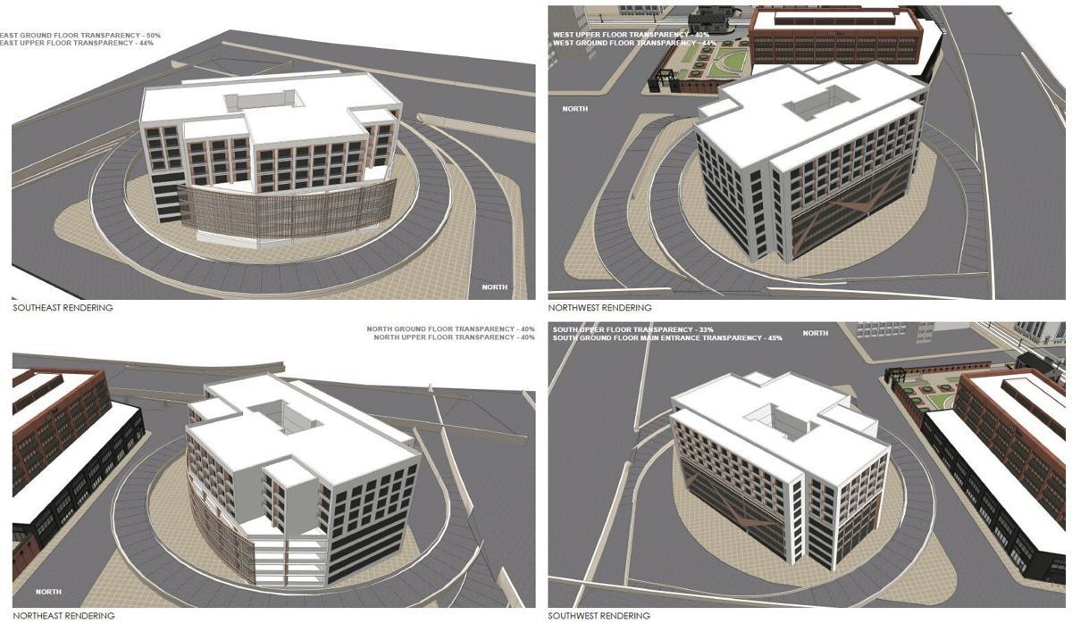 61 Terrace rendering