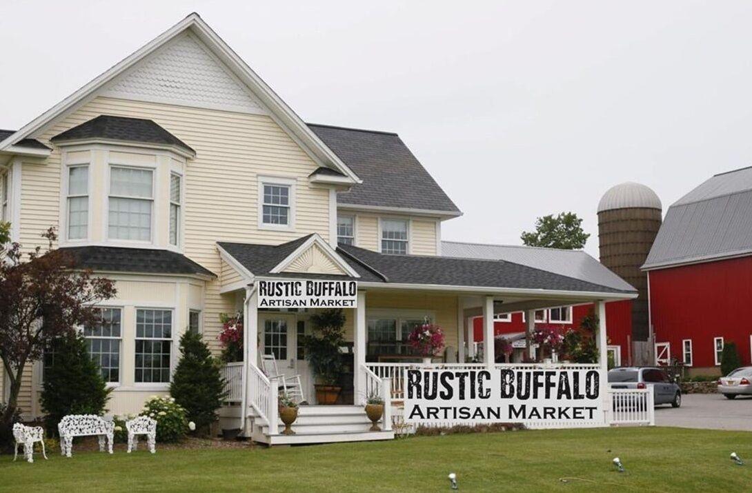 Rustic Buffalo White Linen Tea House